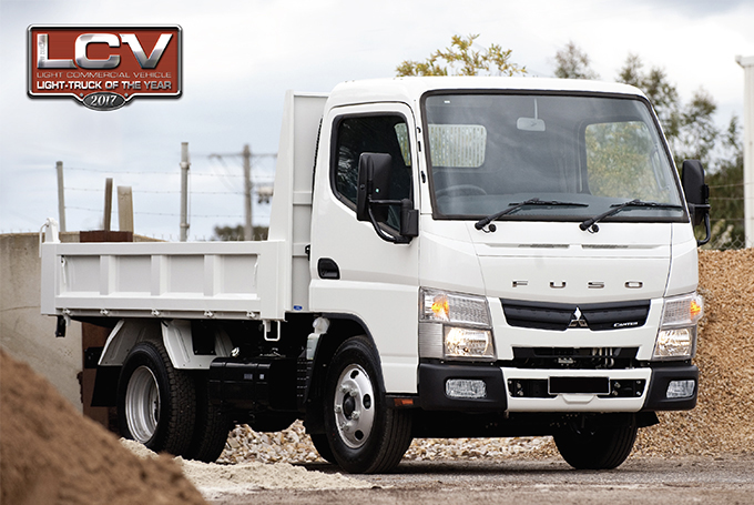 Canter light truck of the year 2017