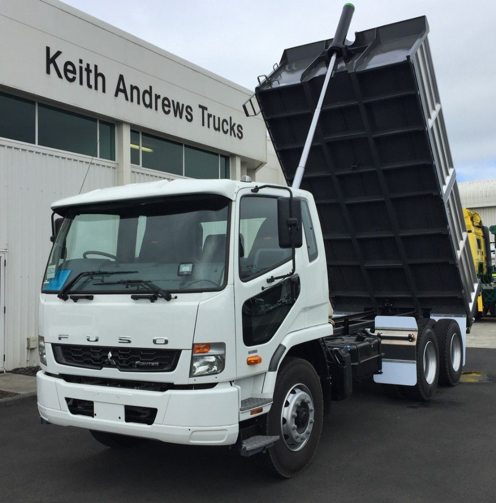 2018 FUSO FIGHTER FN2428  REMOVABLE SIDE TIPPER