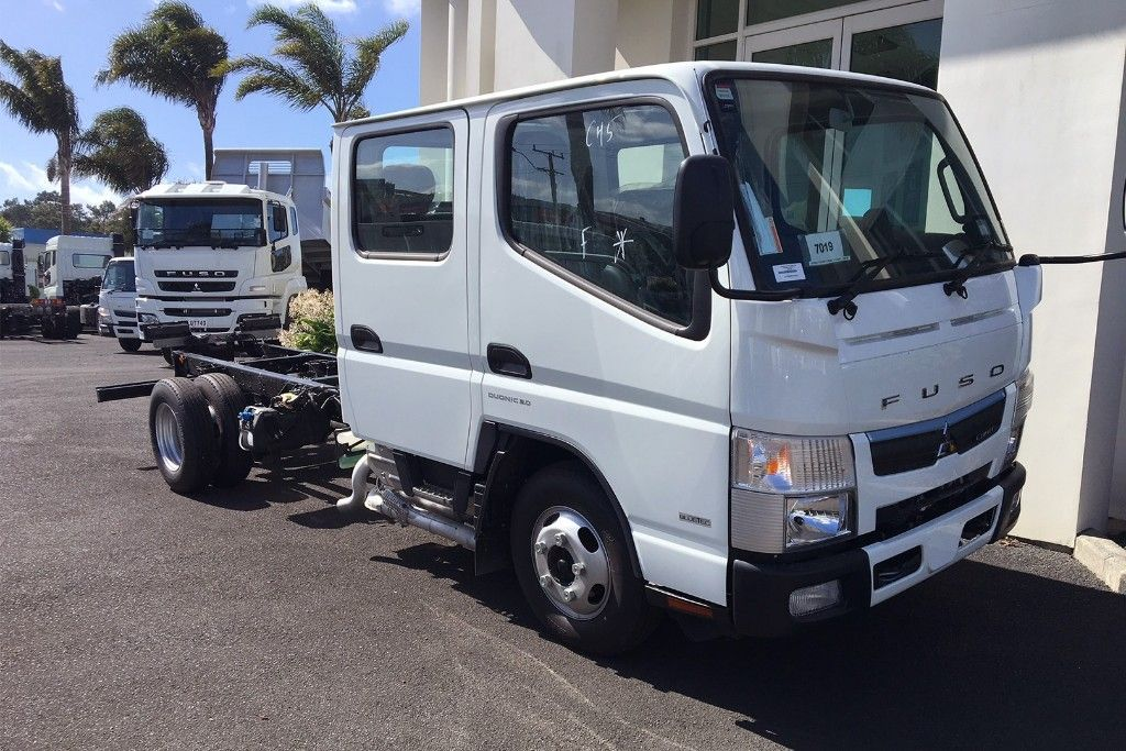 CANTER 513 CITY CREW AWD CAB & CHASSIS 2018